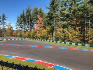 Pavement markings for racetrack