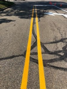 Road painting services