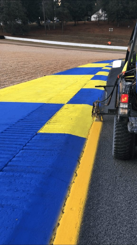 Race Track Painting